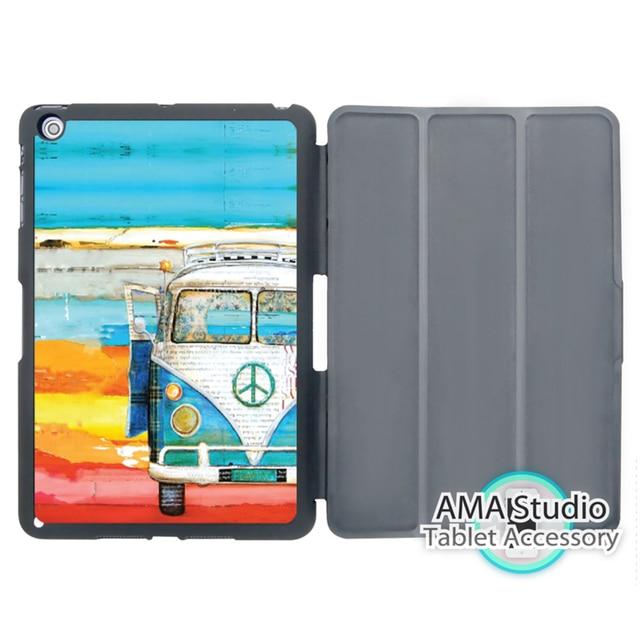 Volkswagen Vw Bus Mint Paint Smart Cover Case For Apple Ipad Mini 1