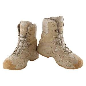 Image 3 - الرجال الصحراء العسكرية التكتيكية الأحذية الذكور في الهواء الطلق مقاوم للماء حذاء للسير مسافات طويلة أحذية رياضية للنساء عدم الانزلاق ارتداء الرياضة تسلق الأحذية