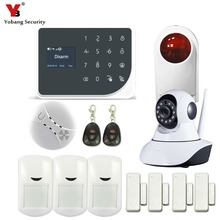 YoBang Security GSM WIFI Alarm Sensor Russian Spain Netherland Voice Indoor Video IP Camera Home Alarm System Against Intruders