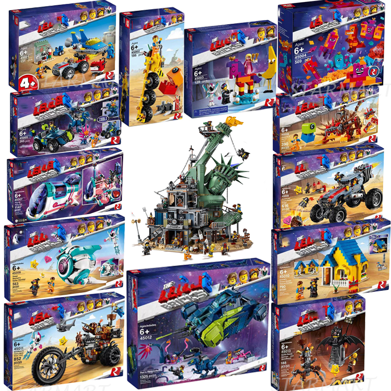 2019 LegoINGlys Movie 2 Welcome To APOCALYPSEBURG 70830 70831 70834 70835 70836 70840 Building Blocks Toys Christmas Gifts