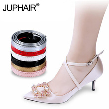 1 Pair High Quality Detachable Lady high-heeled Shoelace Pumps Anti-slip Shoe Strap With Buckle Shoelaces Replacement Accessorie