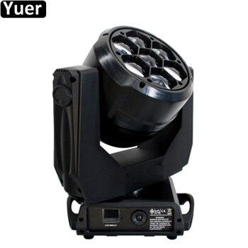 7x40W Lớn-MẮT LED RGBW 4IN1 Zoom Di Chuyển Đầu Zoom Góc 4-60 Độ giai đoạn Tác Dụng Ánh Sáng DMX512 Disco DJ Đảng Đèn
