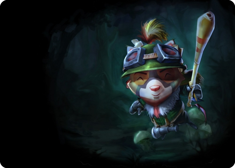 Recon Teemo mouse pad lol pad mouse League laptop mousepad best seller gaming padmouse gamer of Legends keyboard mouse mats