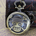 New Arrive Big vintage antique Quartz Bird Women Men Pocket Watch with chain Gift B557 Necklace Pendant Vintage Pocket Watch