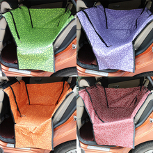 Dog Carrier Car Seat Blanket Cover Rear Back Seat Pet Carrier Dog Mat Rear Seat Hammock for Dogs Cushion Protector Drop Shipping