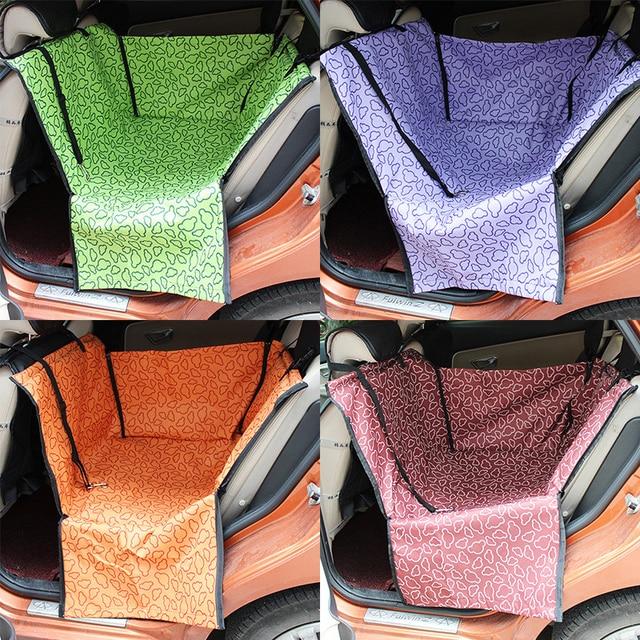 Dog Carrier Car Seat Blanket Cover Rear Back Pet Mat Hammock