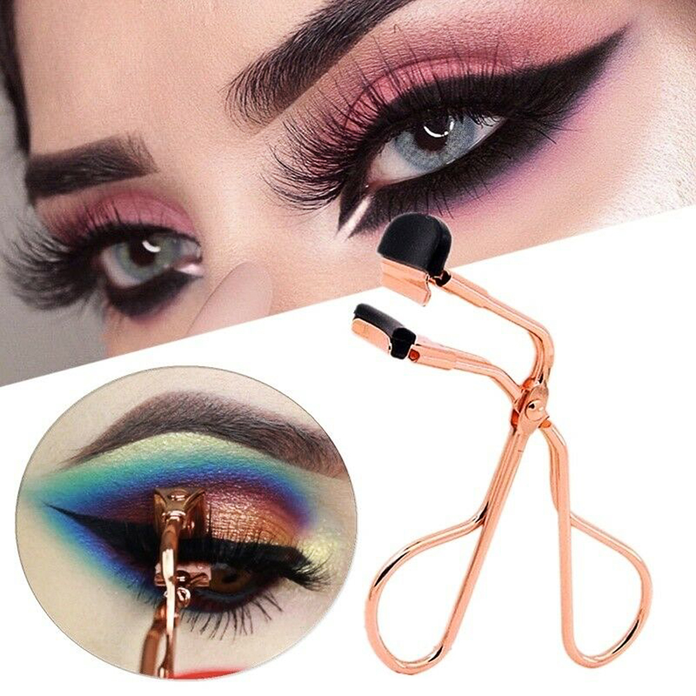 2019 New Eyelash Curler Make Up Tools Eyelash Curler Beauty Tool Eye Lashes Makeup Eyelash Tweezers Wholesale