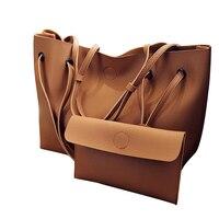 Vintage Handbags Woman PU Leather Large Capacity Female Shoulder Bags Solid Color Practical Women Corssbody Bag