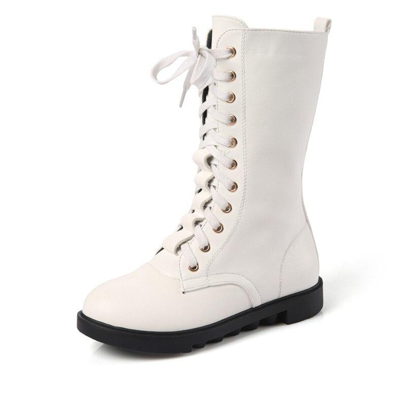 Marca niños botas nuevas botas de invierno de la Cachemira caliente cuero genuino niños zapatos moda niñas nieve zapatos de algodón KS165