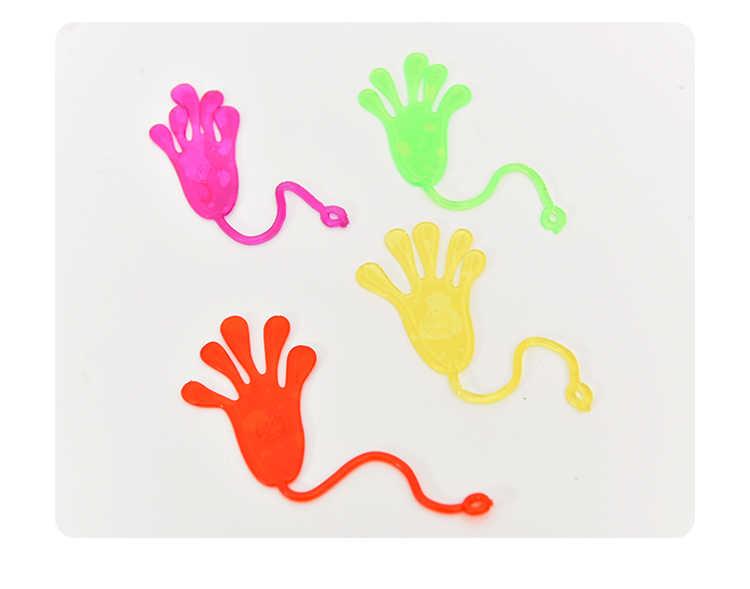 Brinquedos clássicos Brinquedo Lodo Viscoso Palma de Escalada Figura de Ação Engraçado Joke Gadgets Brinquedos de PVC para Crianças Presente Beleza