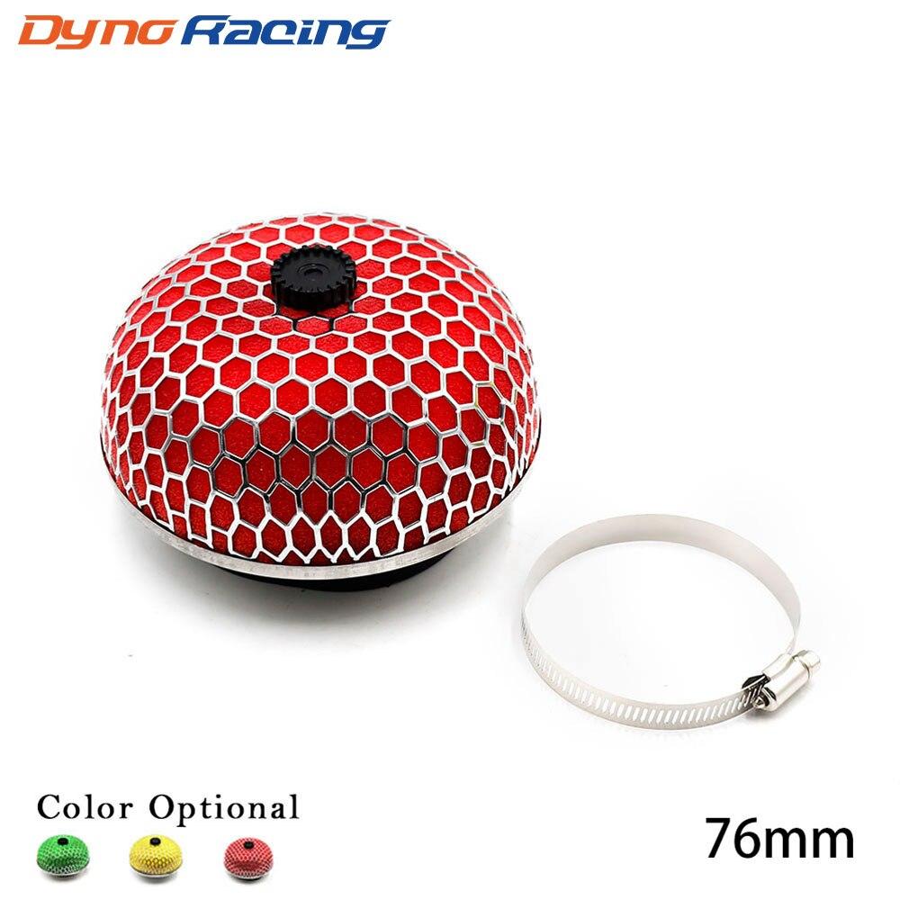 Liquor 3 Inside Diameter Racing Race Air Intake Filter Carbon fiber Car New Universal Bullet type