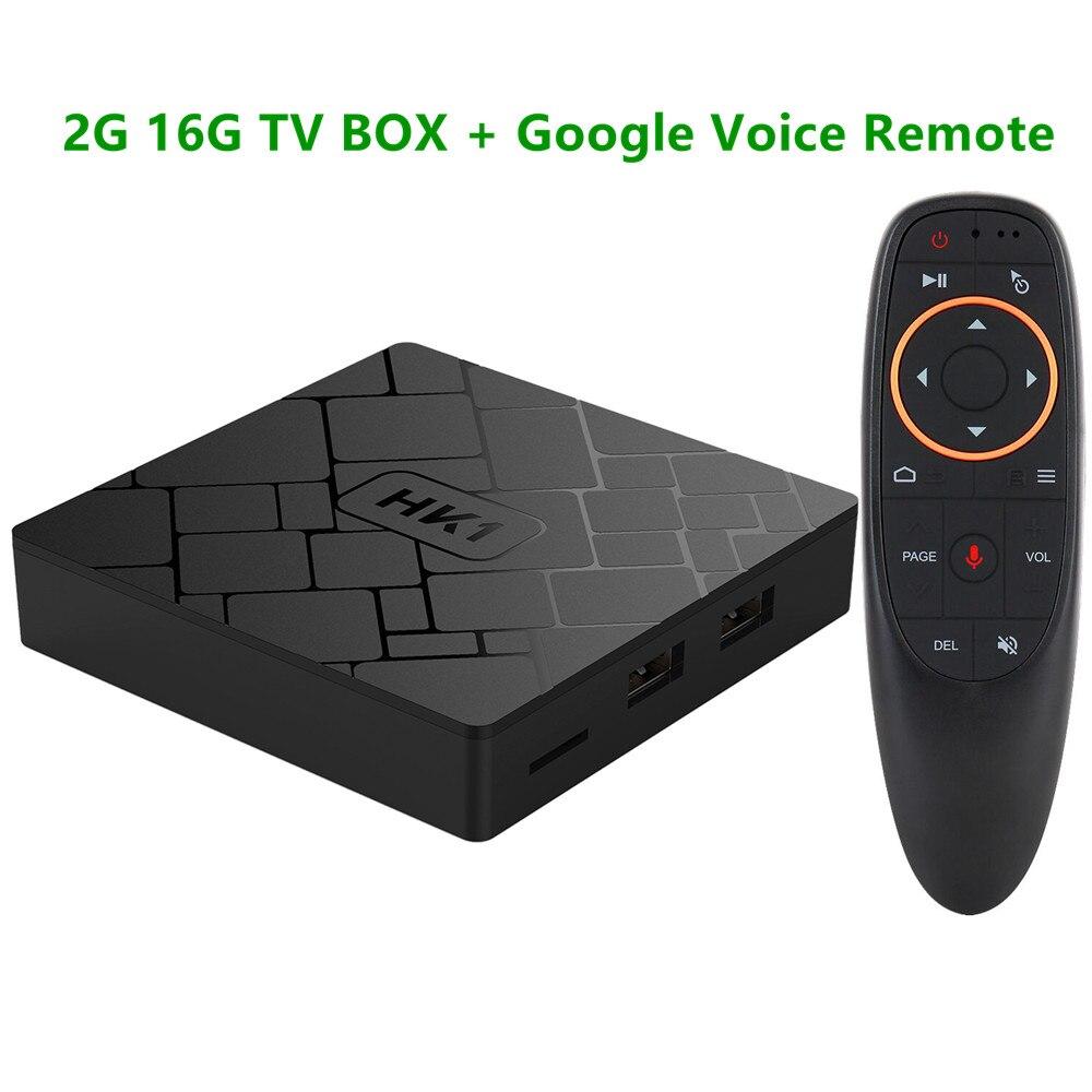 Transpeed Android Smart TV BOX Google Voice Control 4K Amlogic S905W 2G 16G Set Top Box