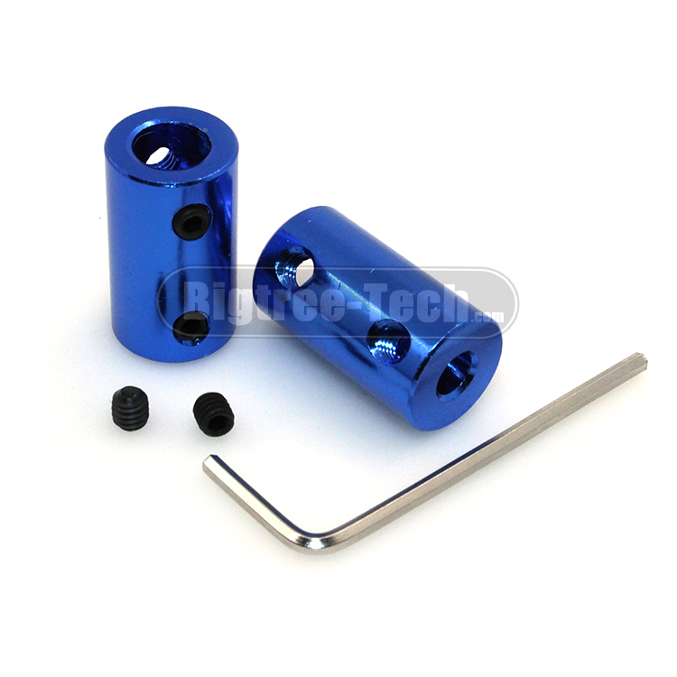 3D Printer Parts Aluminum Alloy Coupling Bore 5mm 8mm Blue Flexible Shaft Coupler Screw Part For Stepper Motor Accessories