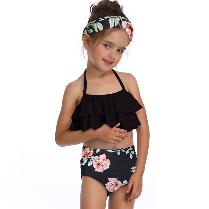 MYT_0090 Beach Biquini Children Bathing Swimming Suits Baby Kid Swimwear biquini infantil