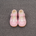 Spring new baby shoes girls shoes soft sole single shoes flower  toddler shoes infant