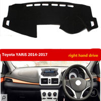 Free Shipping For Car Dashboard Pad Toyota YARIS 2014 2017 Right Hand Drive For Toyota