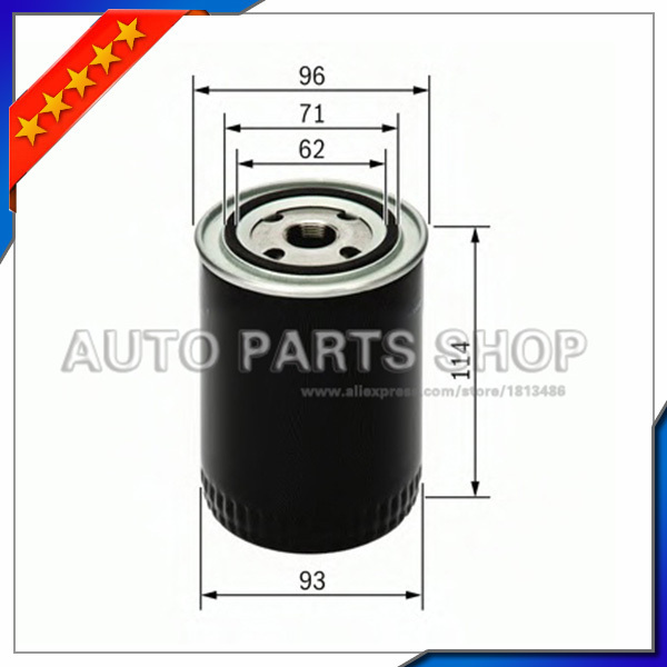 Piezas de automóviles de Alta Calidad Del Filtro De Aceite Para Audi A4 A6 A4Q A6Q A8 A8Q OEM 078115561J