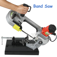 Multi-Functional Variable Speed Saw Mini Metal /Woodworking Band Saw Household Electric Cutting Machine DLY-100