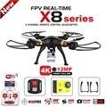 Syma x8c x8g x8w x8hg x8 fpv zangão rc com h9r 4 k câmera de 1080 p Wi-fi Ultra HD 2.4G 4CH RC Quadcopter Dron Helicóptero Profissional