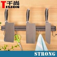 TISION Starke Magnetische Messerhalter Wandhalterung Magnet Messerblock für Küchenmesser Halter stehen Werkzeugauflage Regal Und S haken