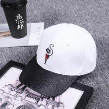 Fashion Enchanting Embroidered Cat Mom Baseball Cap unisex cartoon animal  gift for her strap back gorras 0a06dbb11a3a