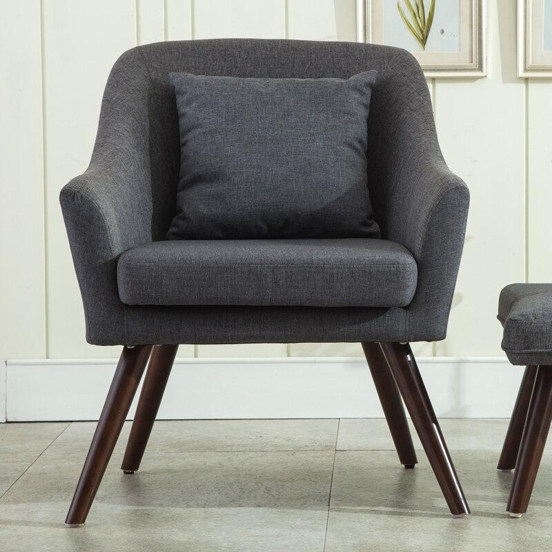 Us 134 1 10 Off Mid Century Moderne Stil Sessel Sofa Stuhl Wohnzimmer Mobel Einzel Sofa Design Holz Beine Bedoorm Sessel Accent Stuhl In