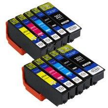 10x Compatible T2621 26XL Black Colour For T Expression XP-700 XP710 XP-720 XP-510 XP-520 XP-600 XP-605 XP-610 XP-615