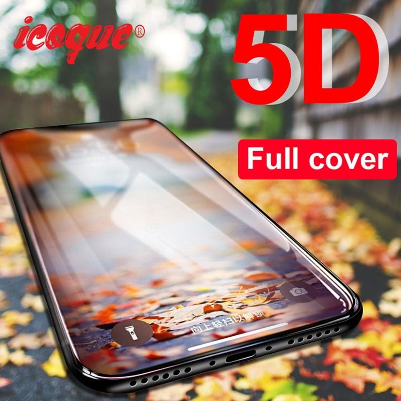 5D Glass For Xiaomi Redmi Note 8 7 6 Pro 5 Plus 4X Note8 Screen Protector Tempered Glass For Xiaomi Mi9 Mi 9t 9 SE Redmi 8 8a 7a