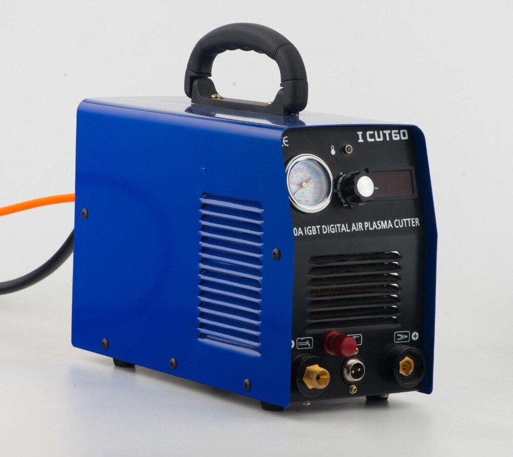 Tosense Pilot Arc Plasma Cutter plasma schneiden maschine HF 220v 60A arbeit mit CNC ICUT60P
