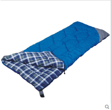 Outdoor camping autumn winter sleeping bag xinyi cotton flannel sleeping bag can be Splicable together for loversOutdoor camping autumn winter sleeping bag xinyi cotton flannel sleeping bag can be Splicable together for lovers