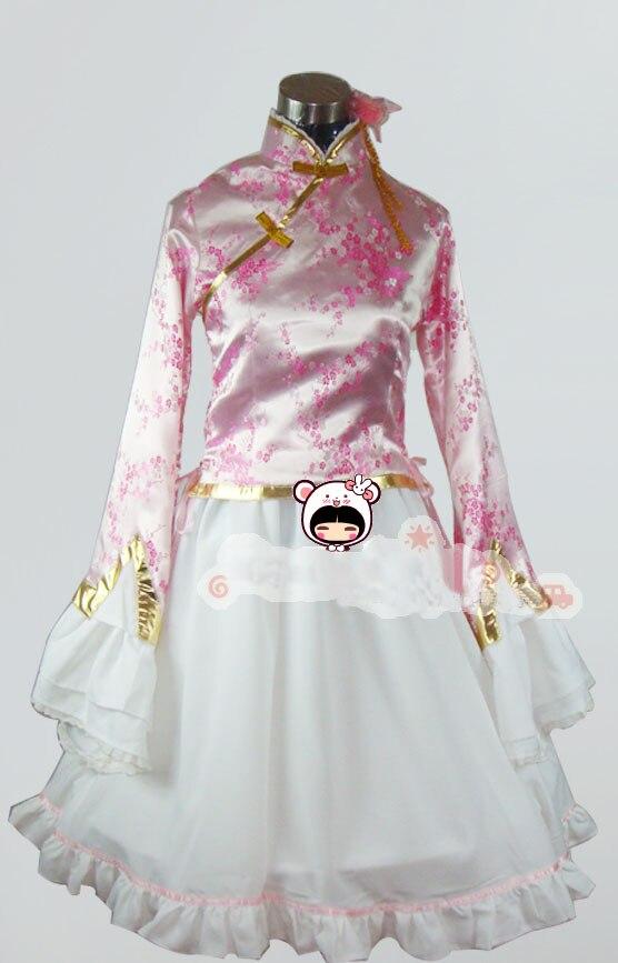 Free Shipping Axis Powers Hetalia APH Taiwan Cosplay Halloween cosplay costume