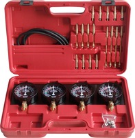 Fuel Vacuum Carburetor Synchronizer Set Kit For Motorcycle
