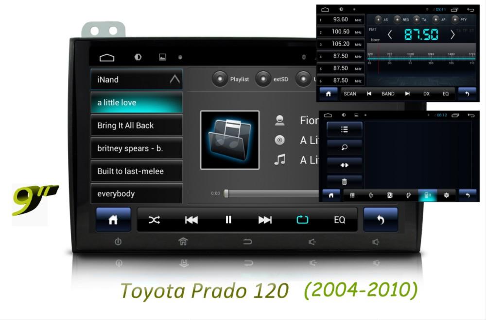 Toyota Prado 120 2004-2010 RDS