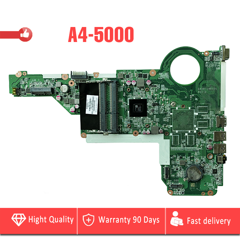 YTAI For HP Pavilion 17-E 17Z-E Laptop Motherboard with A4-5000 processor DDR3 DA0R76MB6D0 mainboard fully tested 763425 501 for hp pavilion 17 f 17z f laptop motherboard day22amb6e0 rev e 260m2gb a6 6310 mainboard 90days warranty 100