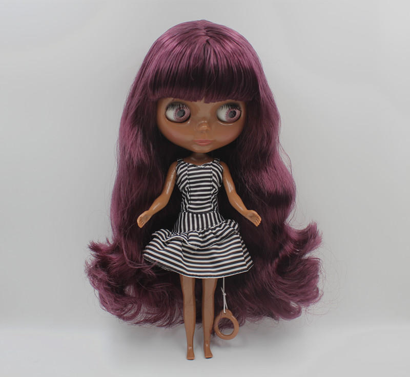 Free Shipping big discount RBL-425 DIY Nude Blyth doll birthday gift for girl 4colour big eye doll with beautiful Hair cute toy free shipping big discount rbl 331 diy nude blyth doll birthday gift for girl 4colour big eye doll with beautiful hair cute toy