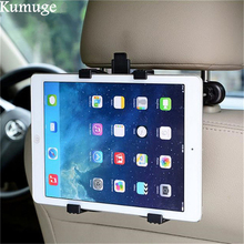 купить Car Back Seat Tablet Stand Mount Holder for 7-11 Universal Tablet Car Holder for iPad 9.7 inch 2017 Pro 10.5 Air 2/1 Mini 2/3/4 по цене 527.31 рублей
