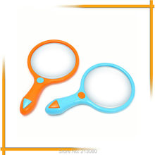 1X Reading Magnifier Things Explore Observer Loupe for Children Learning 10cm Children Kids HandHeld(China)