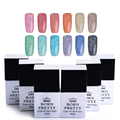 BORN PRETTY Fur Effect Nail Gel Polish 1 Bottle 10Ml Soak Off Nail Art UV Gel Polish Manicure 12 Colors