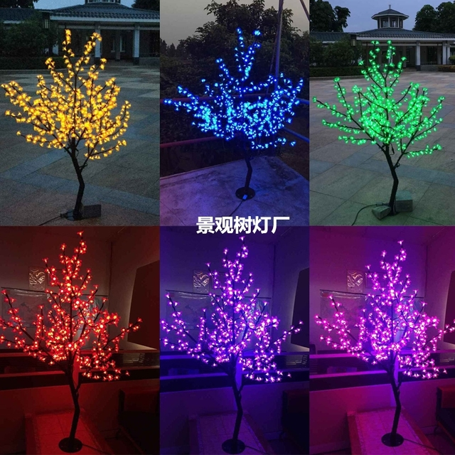 Free ship 1.2m/4ft 360 LEDs Cherry Blossom Tree Light Christmas wedding party Patio Outdoor indoor deco waterproof