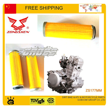NC250 250CC ENGINE ZS250GY-3 RX3 4 valve ZONGSHEN ENGINE OIL FILTER