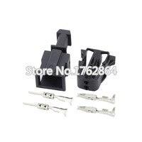 Женский Мужской авто 2 Pin ABS Датчик жгута проводов разъем использовать для VW Golf DJ7023-1.5-11/21