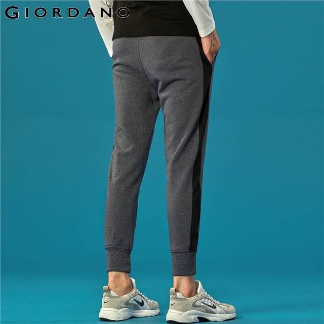 Giordano Men Pants Zip Pocket Terry Joggers For Men Knitted Jogger Pants Male Moletom Masculino Pantalones Hombre Casual 49