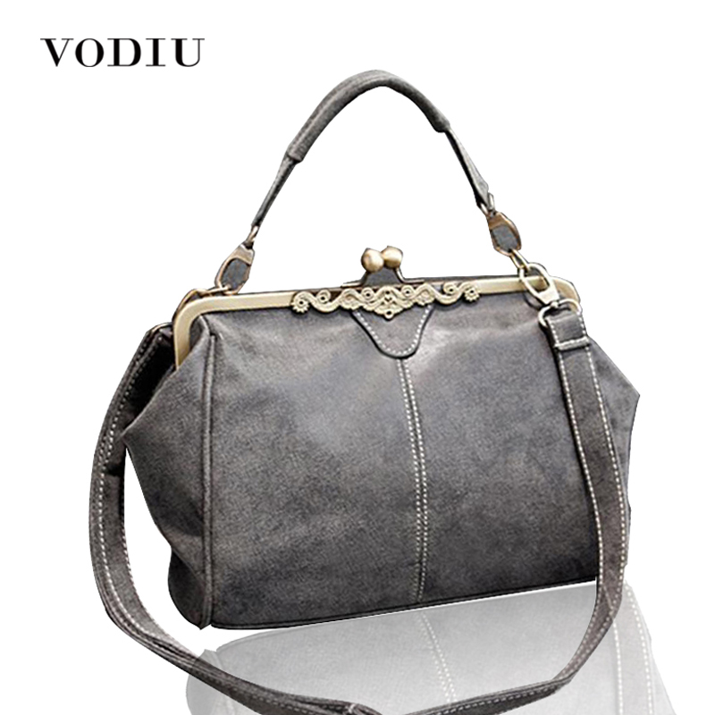 Women Handbags Famous Brand  Vintage Bags Retro PU Leather Tote Messenger Small Clutch Over Shoulder Crossbody Female 2017 Bag kadell new luxury brand bag women leather handbags matte pu leather ladies tote bolsa vintage messenger crossbody shoulder bags