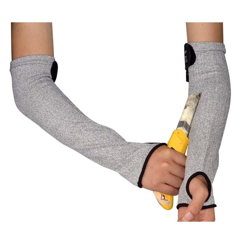 X5 anti-cut wrist armband kneepad knife proof glass scratch-resistant self-defense products level 5 cut resistant armband thick steel anti cut knife stab proof anti scratch glass wrist defense supplies