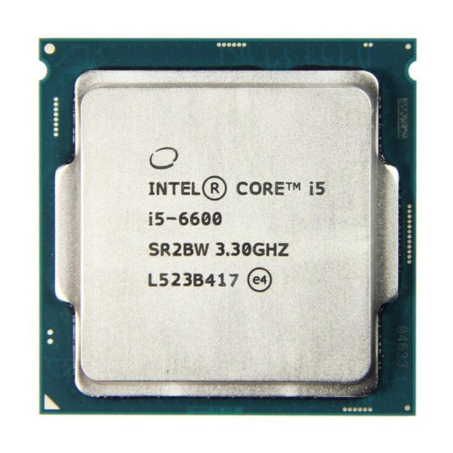Intel Core i5 6600 3.3GHz 6M Cache Quad Core Processor desktop LGA 1151 CPU 1