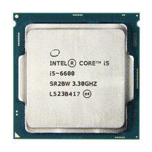 Процессор Intel Core i5 6600 3,3 ГГц 6 Мб кэш-памяти четырехъядерный процессор Настольный LGA 1151 ЦП