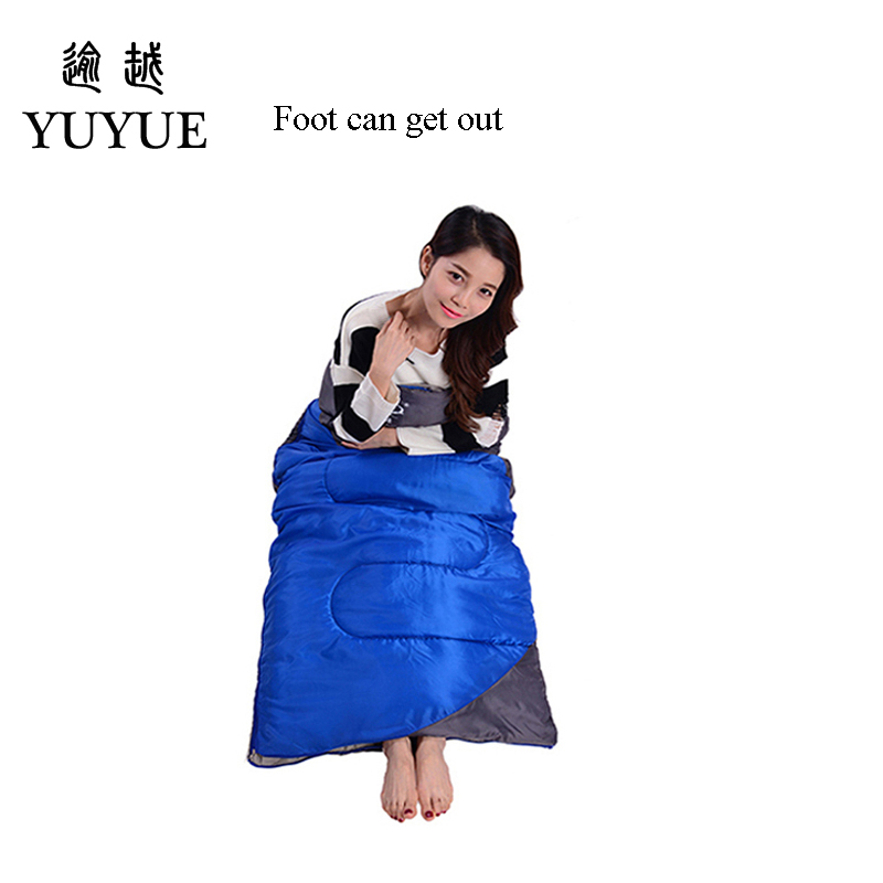 1600g Waterproof Camping Sleeping Bag For Accesorios Playa Splicing Double Sleeping Bags Ultralight Outdoor Camping Sleep Bag  4