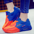 Air Basket Shoes Couple Casual Mesh Breathable Sport Walking Shoes Men Trainers Superstar Zapatillas Deportivas Mujer Blue Mixed