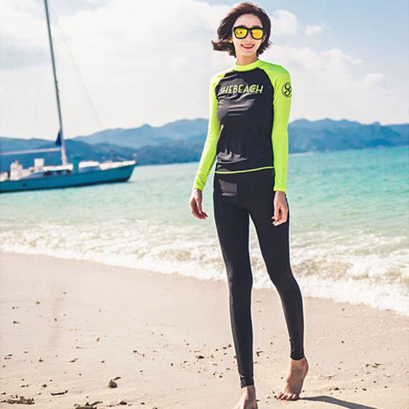 Quick drying long sleeve 2017 women swimming suit for Women s ice fishing suit