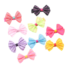 Cute Bow Hairpins Hair Barrettes Headdress Flower Children Hairpin Princess Baby Girls Headwear Hair Clip 2 pcs 1 pair children baby girls hair accessories clip girls hairpins barrettes headwear flower hairpin phr0521